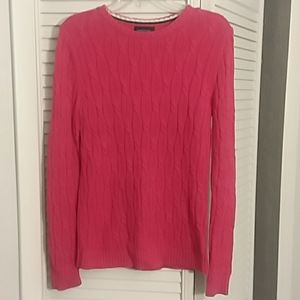 Lands End cable knit sweater..drifter